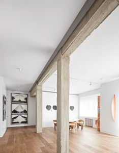 Modernist apartment renovation in madrid by lucas  hernandez gil also rh pinterest