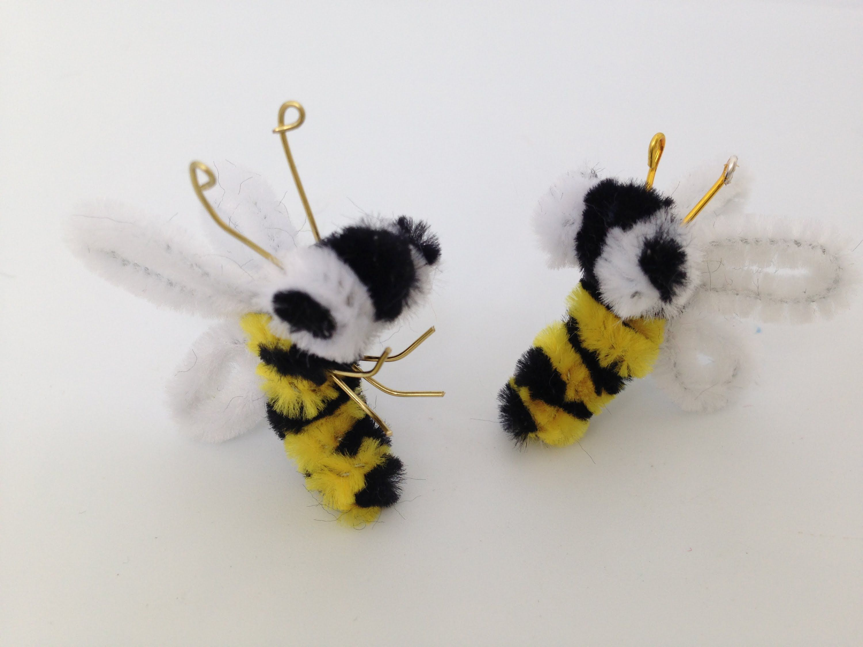 How to make a Pipe Cleaner Bee