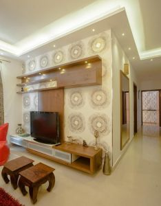 bhk partement classic living room by in built concepts also gadgets rh za pinterest