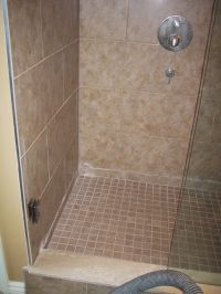 doorless shower design ideas   small bathroom design ideas ...