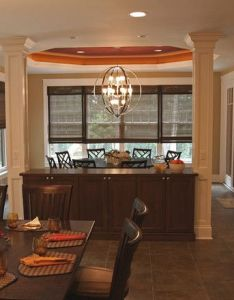 Traditional dining room built in buffet design pictures remodel decor and ideas also rh pinterest