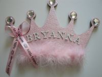 Princess Crown Name Plaque, Girls Room Decor, Name Sign ...