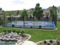 Backyard Courts Gallery | Sport Court | Backyard ...