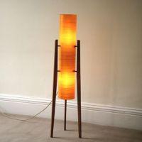 Retro rocket lamp   Vintage Lamps   Pinterest