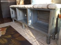 Crate bench. | Home Decor | Pinterest | Crate bench ...