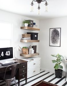 Create  calming home office with this rustic modern mood board plus inspiration and tips for creating eclectic style in your own also design  rh pinterest