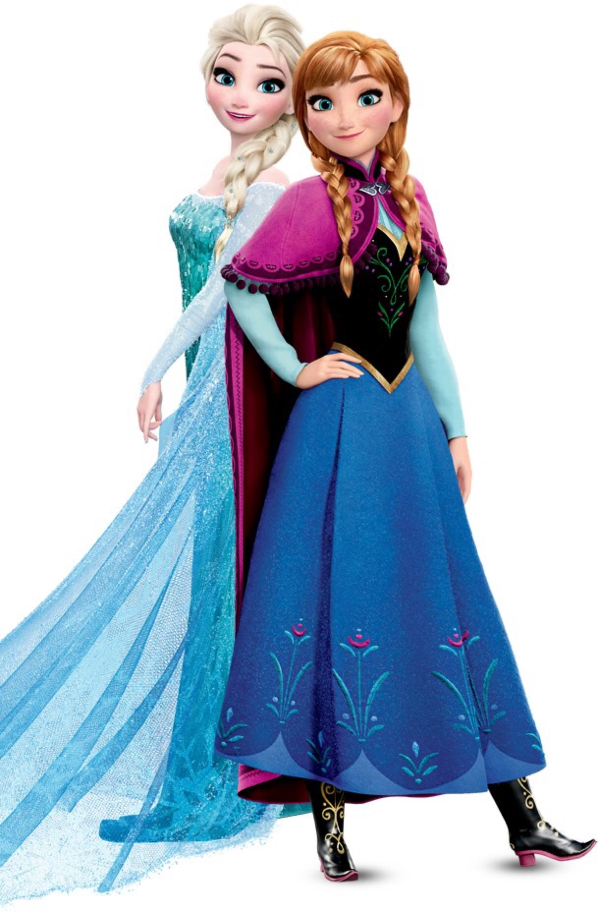 Disney Princesses Including Anna And Elsa