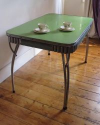 Vintage Retro Rare Chrome Laminex 50s 60s Kitchen Dining ...