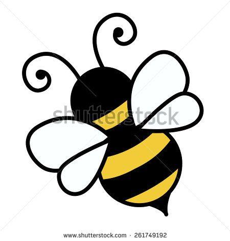 free bumble bee cartoon vector