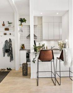 Room also cocinas reducidas con zona para comer estilo escandinavo rh pinterest