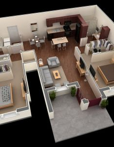 Springs at th floor plans for apartments in plainfield il bedroom apartment also rh pinterest