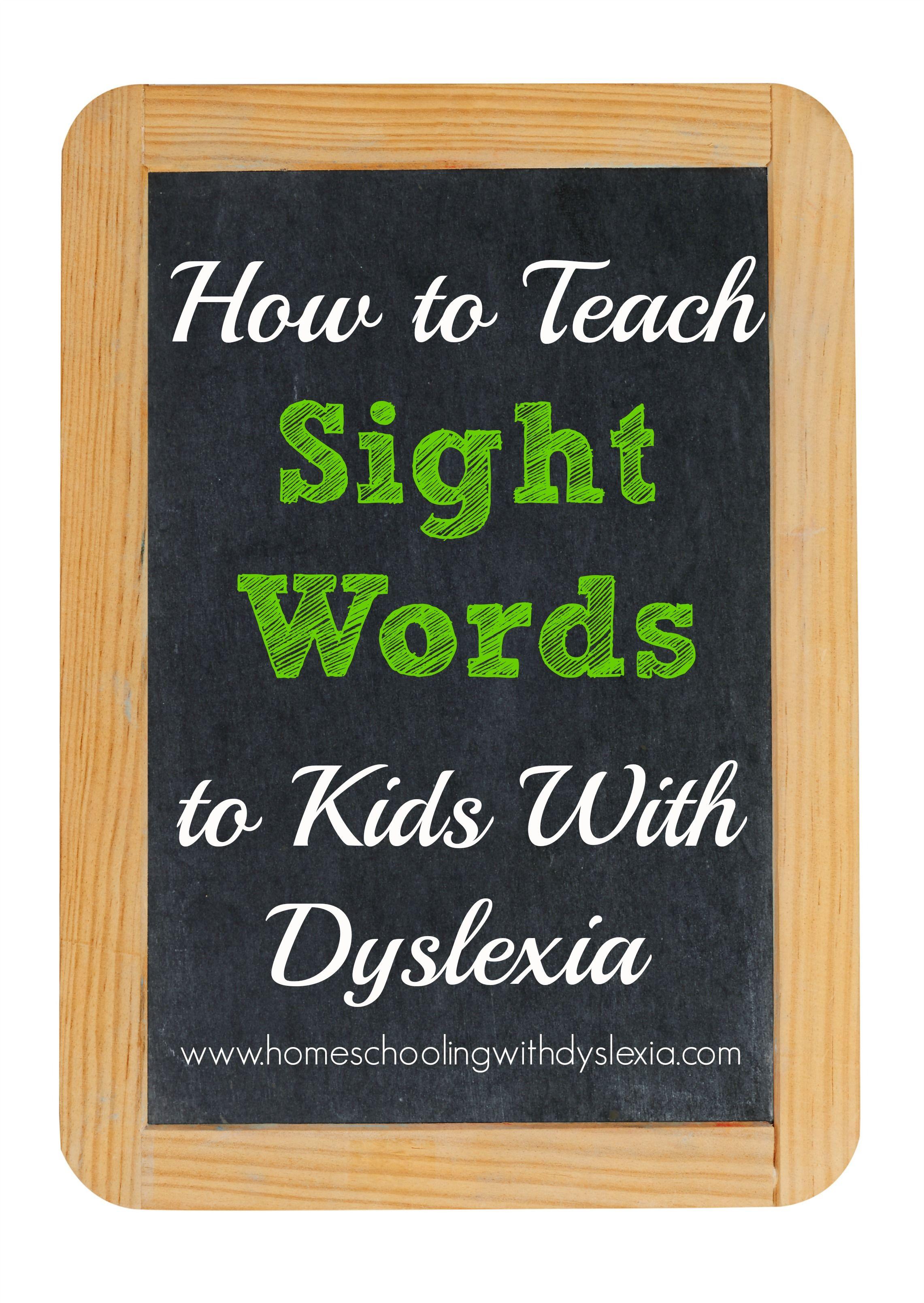 Dyslexia Teaching