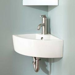 Wall Mounted Kitchen Sink Tall Table Sets Amelda Mount Corner Bathroom Monroe 2