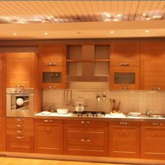 Flat Panel Kitchen Cabinets Buy Commercial Equipment Online Wonderful Dark Brown Wood Stainless Cool Design