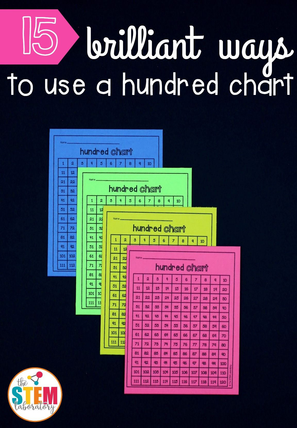 15 Brilliant Ways To Use A Hundred Chart Lots Of Great