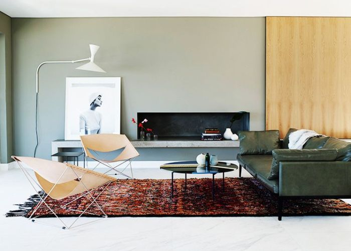 Inside  modern australian home with neutral accents also the best images about couch colorful rug on pinterest in