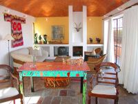 Mexican Houses eclectic living room | Painted Furniture ...