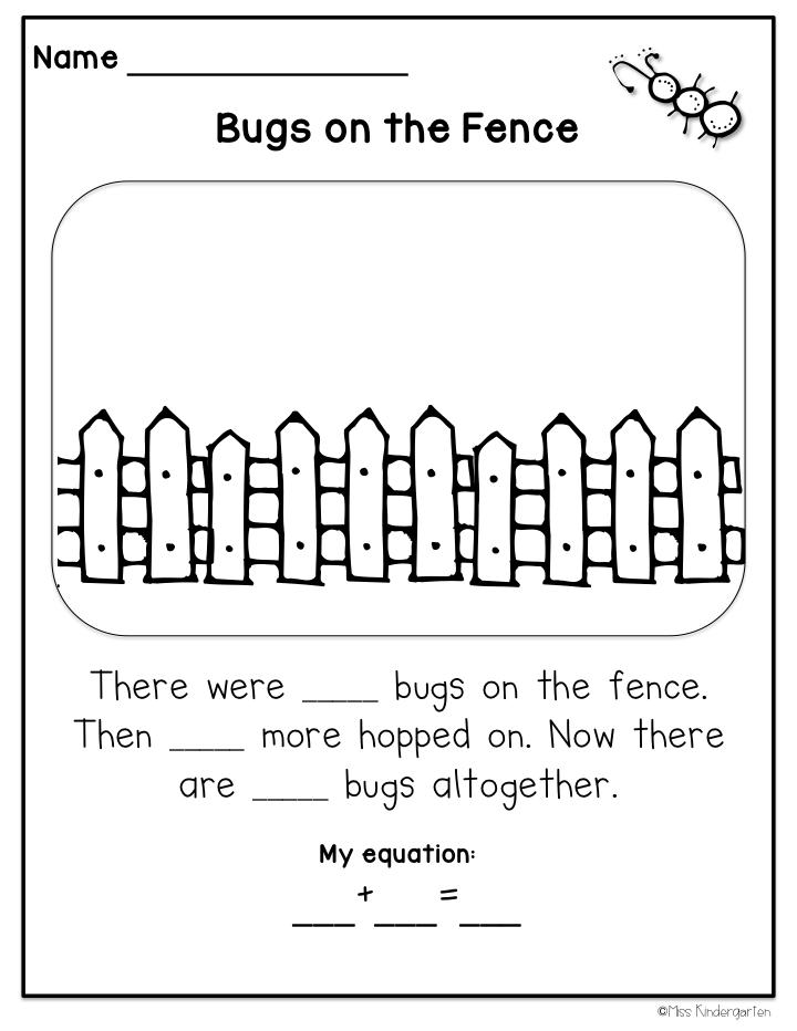 Kindergarten Story. Worksheets. Ratchasima Printable