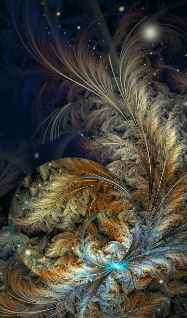 Fractal Feather Art