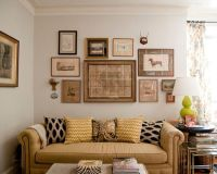 Amazing Wall Picture Collage Ideas: Fascinating Eclectic ...