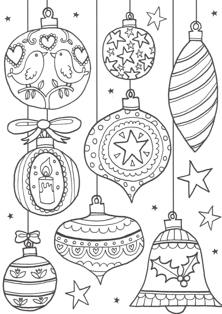 free christmas colouring pages for adults - the ultimate roundup