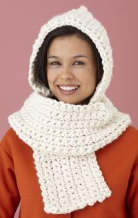 Free Crochet Hooded Scarf Pattern | Free Crochet Pattern ...