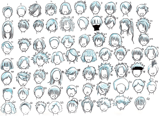 Chibi Male Hairstyles Google Search Drawings Pinterest Boy