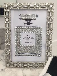 Sheffield Jeweled Framed Chanel No. 5 Perfume Bottle ...