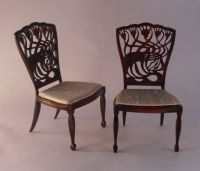 Art Nouveau Chair by Keith Bougourd | awesome miniture ...