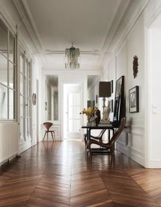 Nine interior design lessons we  ve learnt from the french vogue living walls floors rugs ideas house pinterest interiors and wooden also rh