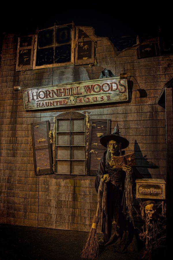 Walkthrough Haunted House Facade. Build Haunt