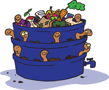compost clipart vermicomposting