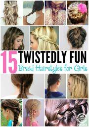 fun braid hairstyles girls
