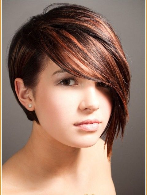 Long In Front Short In Back Hairstyles Short Back And Long Front