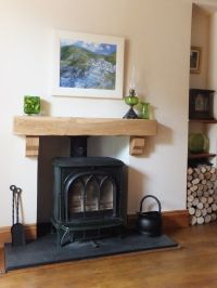 Fireplace - Period Oak Beams http://www.periodoakbeams.co ...