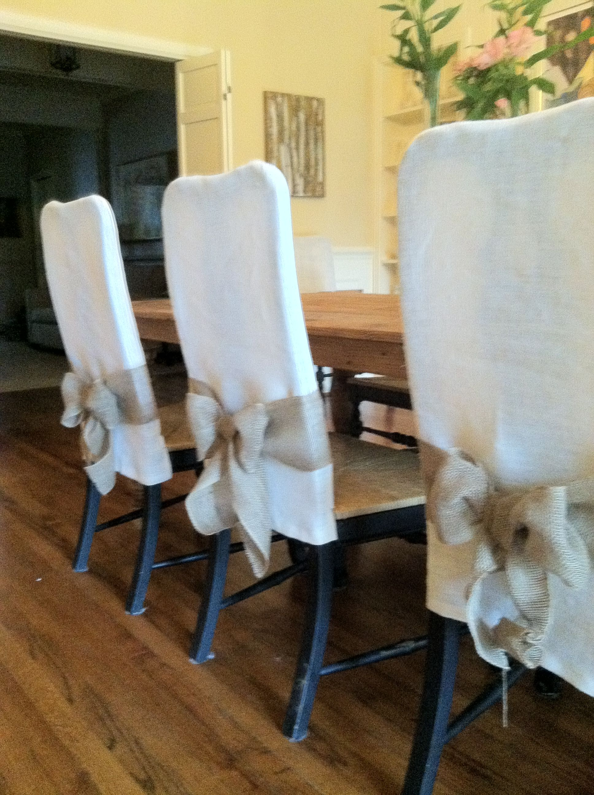 parsons chair cover tutorial plastic chairs with stainless steel legs summer dining slipcovers bridesmaid luncheon