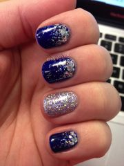 royal blue holographic glitter