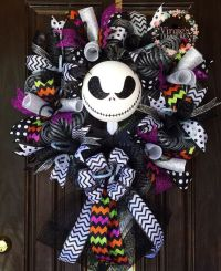 Halloween Wreath- Jack Skellington- Nightmare Before ...