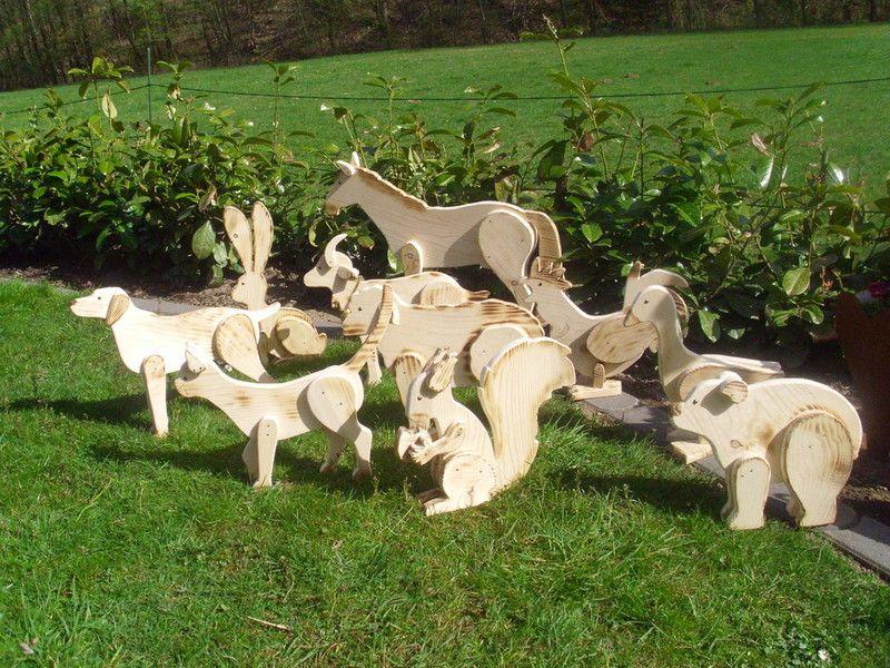 Holzwurm Kreatives Für Haus Und Garten Sortiment Tierfiguren