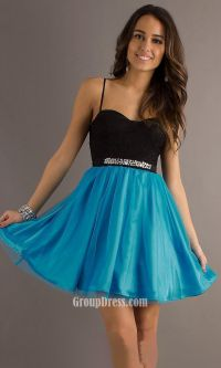 Short Homecoming Dresses With Straps | Great Ideas For ...