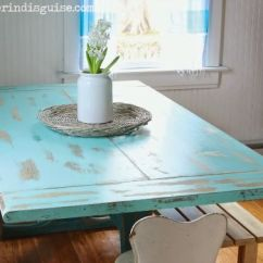 Beachy Kitchen Table How To Make Spice Racks For Cabinets Pinterest Kitchens