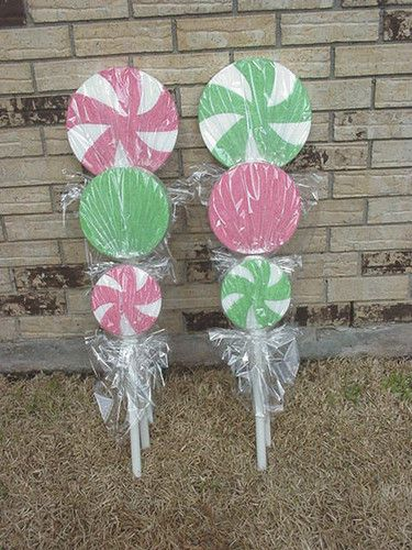Candyland Willy Wonka Indoor Outdoor Lollipops Party