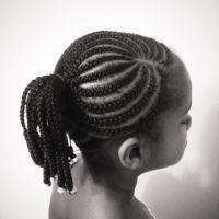 cornrow braids into ponytail classic cornrows braided into ...