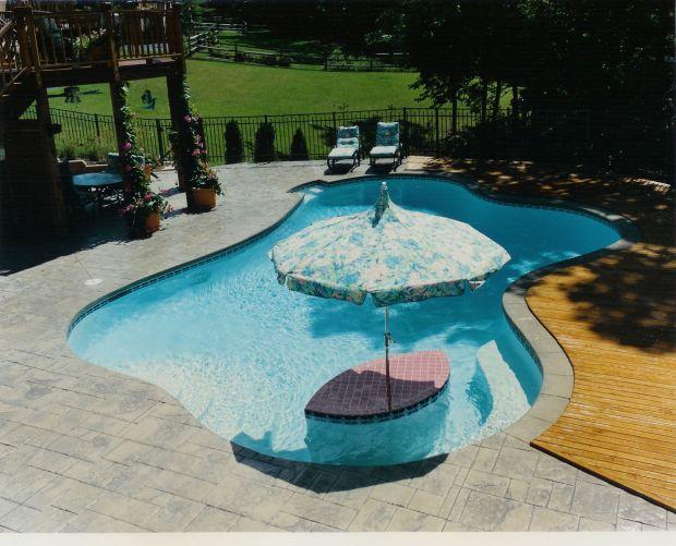 Built In Pool Designs - Home Design Ideas