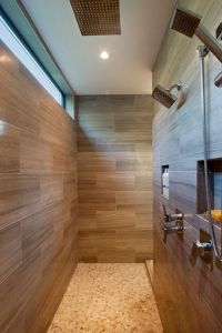 Walk Through Shower on Pinterest