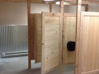 Image result for homemade bathroom partitions | ADA ...
