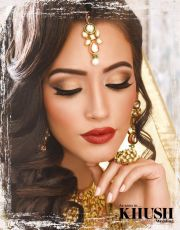 indian bride full makeup - mugeek