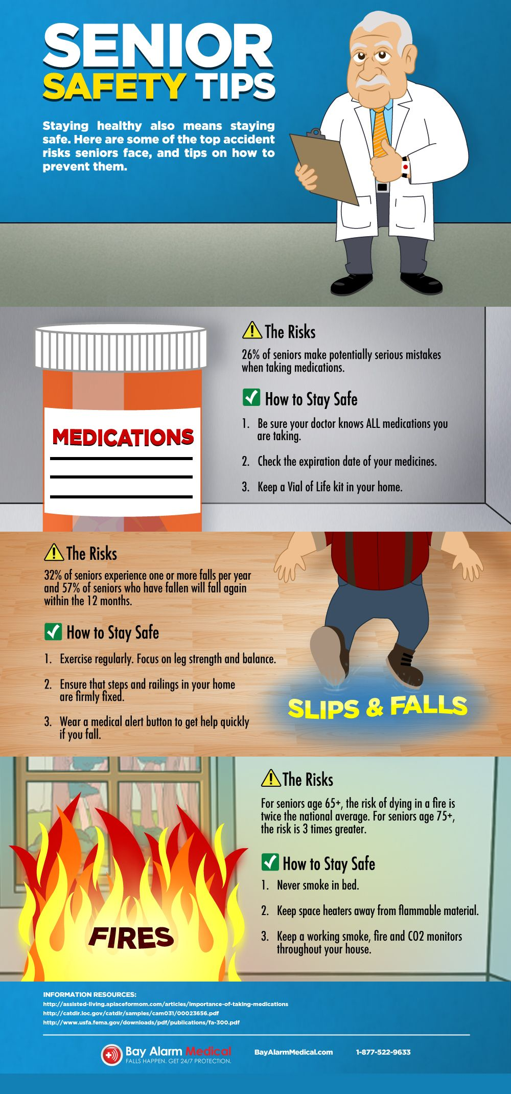 Senior Safety Tips Infographic Safety Tips Safety And