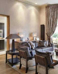Room also on trend colours in this family home fulham homes living rh pinterest