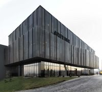Perforated Anodised Metal Doubleskin Facade // Greyder